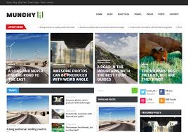munchy mag responsive blogger template 2014 free blogger templates