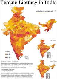 Thematic Maps Literacy In India