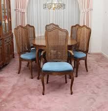 Thomasville Dining Room Chairs by Vintage French Provincial Style Dining Set By Thomasville Ebth