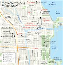 Chicago Line Map by Chicago Hotels Update