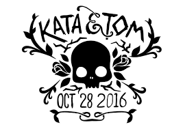 Halloween Wedding Save The Date by Spencer Coons Visual Designer Seattle Wa