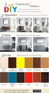 free design used bathroom vanity cabinets with 16 years oversea