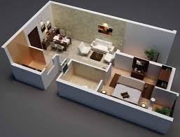 500 Sq Ft Apartment Floor Plan 610 Sq Ft 2 Bhk 1t Apartment For Sale In Radiance Realty Mercury