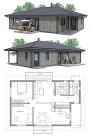 Wrap Around Porch Floor Plans Home Plan Two Bedroom House Plans Pinterest Small Porches