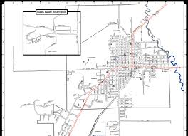 Oregon Map by Welcome To The City Of Burns Burns City Map