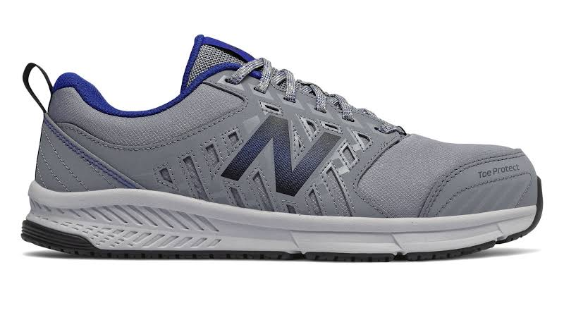 New Balance 412 Alloy Toe Grey with Royal Blue