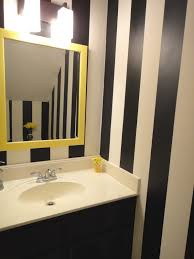 bathrooms best yellow bathroom decor as well as black wooden