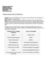 Puritan essay introduction