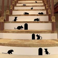 unique hq mouse hole wall decal rat wall sticker 3d wall mural unique hq mouse hole wall decal rat wall sticker 3d wall mural stairs stickers self adhesive