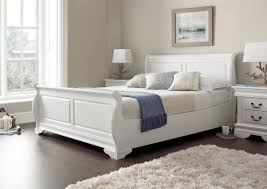 Cheap Wooden Bedroom Furniture by Bedroom Wood Sleigh Bed Queen Sleigh Beds For Sale Queen