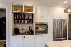 Garage Depth Appliance Garages Kitchen Cabinets Kitchen Cabinets