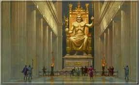 olimpos zeus heykeli