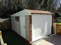 prefab garage wood building packages best house design