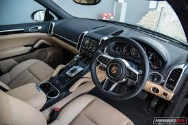Porsche Cayenne Inside - 2016 porsche cayenne diesel review video performancedrive