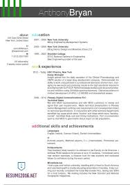 Best Resume Format For College Students by Pretty Ideas Best Resumes Format 13 Resume Format Examples