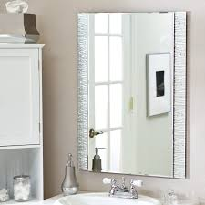 interior mesmerizing frameless full length mirror for home