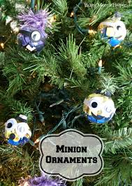 minion ornaments busy moms helper