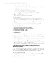 Chemist Resume Samples by Chapter 4 Workforce Competency Models A Guide To Building And