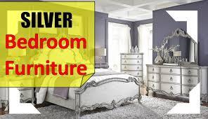 White Bedroom Furniture Jerome Silver Bedroom Furniture Youtube