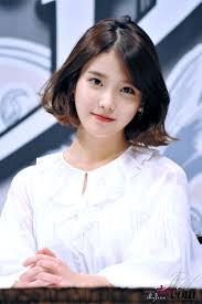 iu sweet angel hair pinterest angel kpop and short hair
