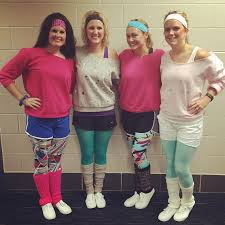 Halloween Costumes 25 80s Workout Costume Ideas 80s Theme