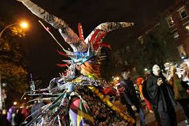 new york city u0027s annual halloween parade photos abc news