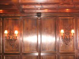 Old Wood Paneling Mahogany Wainscoting Panels Chateau Bed Architecture