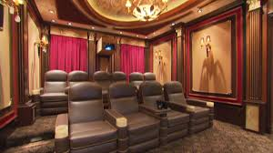 luxury home theater look inside millionaires u0027 home theaters video personal finance