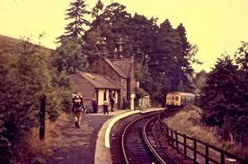 Lambley railway station