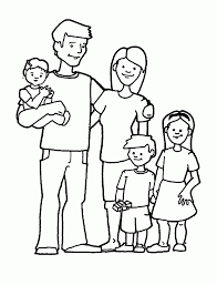 family coloring page best coloring pages adresebitkisel com