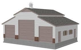 free garage plans sds plans part 2 free sample barn plan download g197sds 36 x 46 barn plan blueprints construction drawings