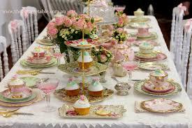 elegant baby shower table decorations baby shower diy