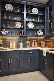 china cabinet navy kitchen cabinets kitchens with dark best blue