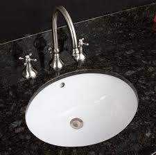 bathroom perfect oval undermount bathroom sink on natural