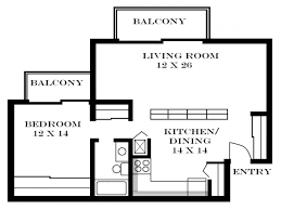 Studio Apartment Design Plans Beautiful Design One Bedroom Apartment Floor Plans Typical Layout