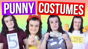 diy punny halloween costumes youtube