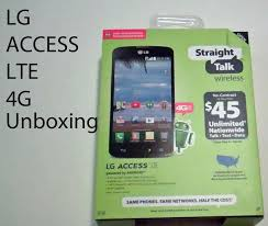 Straight Talk Promo Code for LG Access LTE
