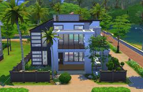 House Design Asian Modern by Home Design Modern House Floor Plans Sims 4 Asian Medium Modern