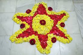 Indian Flower Design Pookalam U2013 Indian Floral Design U2013 Mega Bored