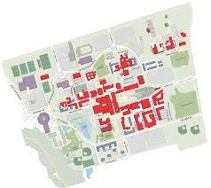 Bc Campus Map York University Keele Interactive Map