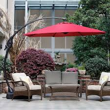 Offset Patio Umbrella by 11 Best Large Cantilever Patio Umbrellas With Ideal Shade Coverage