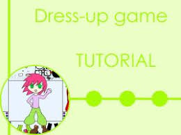 How to Make a Flash Dating Sim by Pacthesis on DeviantArt Dress up tutorial by Rose Layon