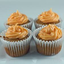 pumpkin cupcakes with maple cream cheese frosting tiny test