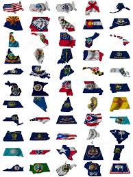 States Of United States Map by Flag And Map Of United States Of America U2014 Stock Photo Sav Up