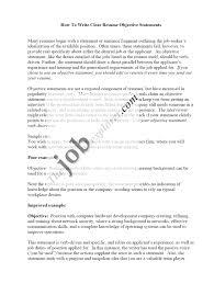 Resume Objective Statement Example Resume Objective Statement Examples Education
