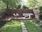 Cozy Outdoor Wood Deck Design Ideas Cozy Sofa For Seating At Low ...
