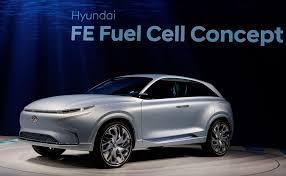 hyundai hyundai fe fuel cell concept previews hydrogen powered suv coming