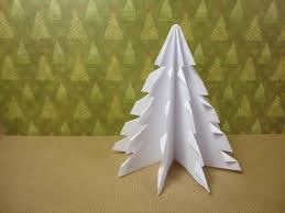 how to make a 3d paper xmas tree diy tutorial youtube