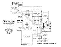 Cabana House Plans by Nashville Manor House Plan Covered Porch Plans