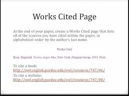 How to make an MLA Works Cited page in Word   YouTube JCP Library